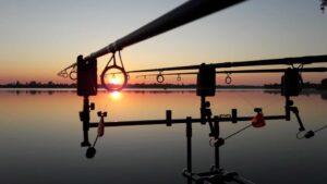 Jezero Čiče ribič fotografije