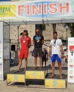 Sjajan rezultat Škrinjarića na korčulanskom triatlonu