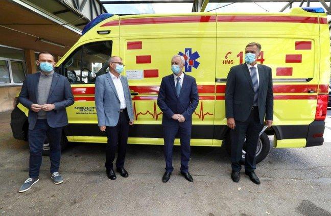nova vozila za hitnu pomoć