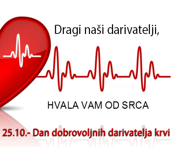 Dan dobrovoljnih darivatelja krvi