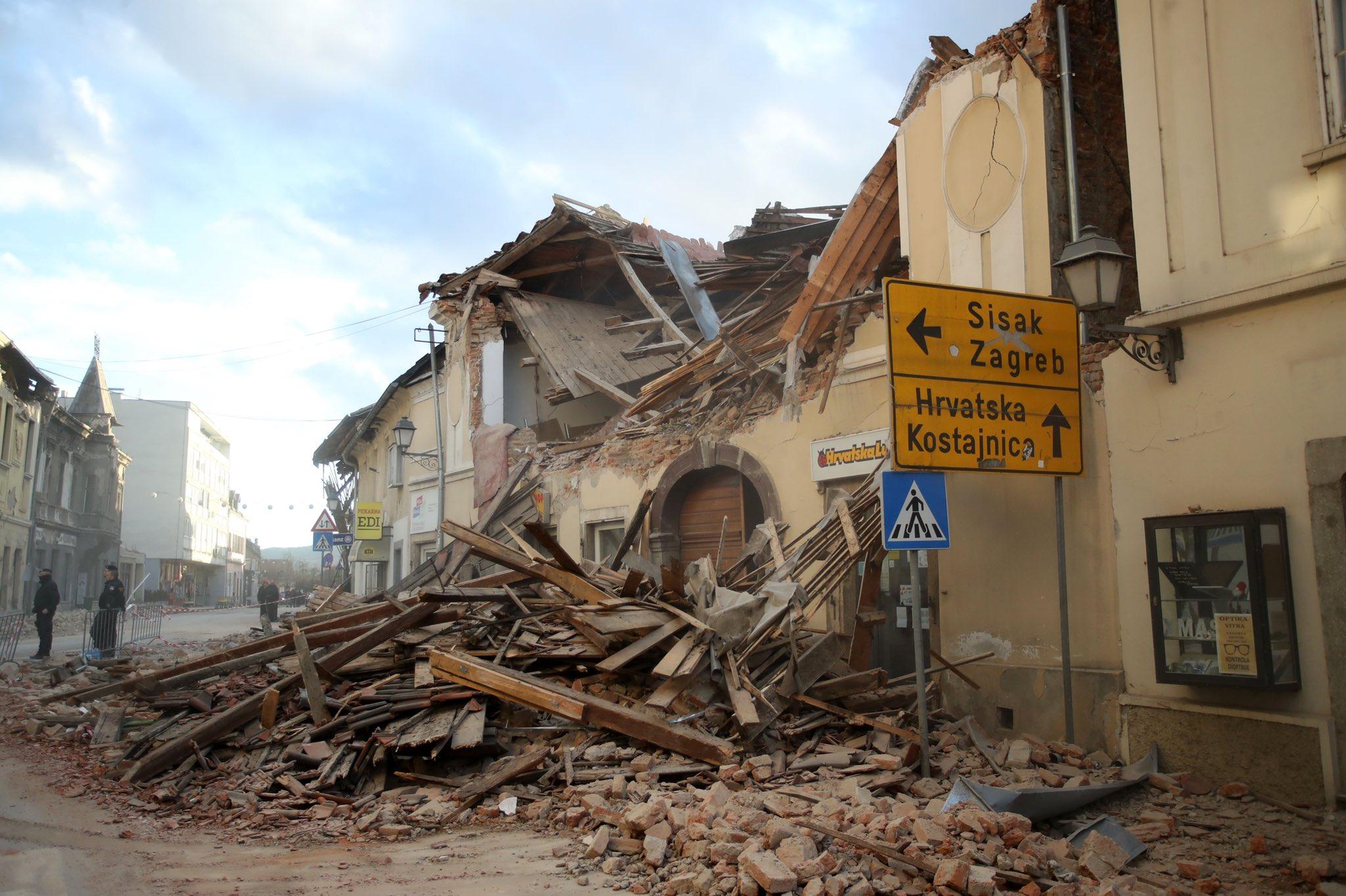 još dva potresa